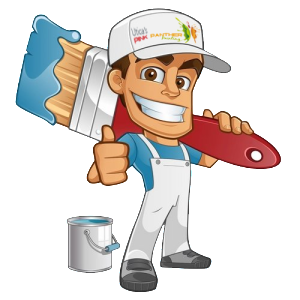Image result for house painting cartoon